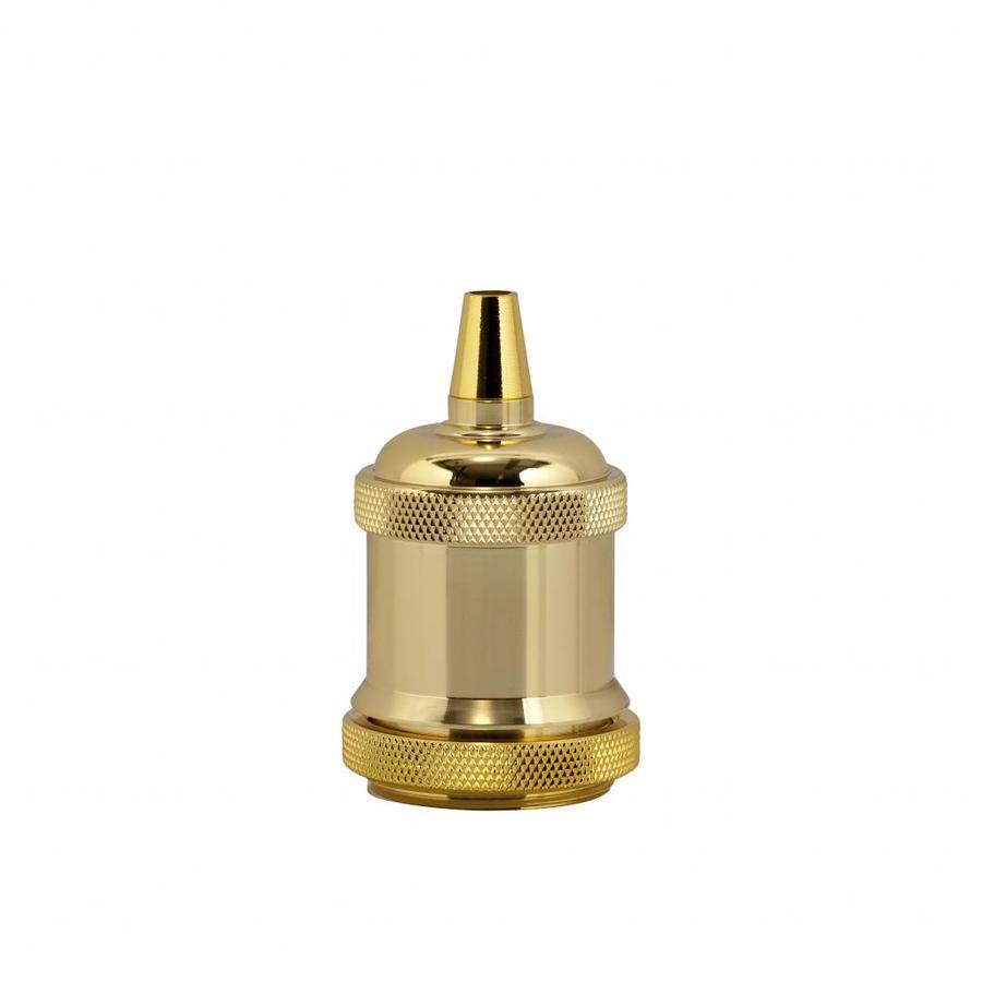Fitting 'Bernt' metaal Goud E27