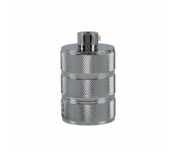 Kynda Light Metal Lamp Holder 'Hallvor' chrome