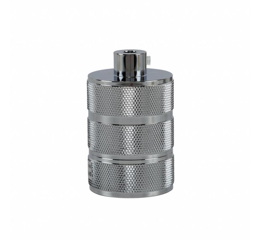 Metal Lamp Holder 'Hallvor' chrome E27
