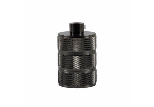 Fitting 'Hallvor' metaal Zwart