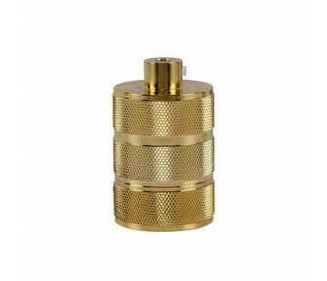 Kynda Light Metal Lamp Holder 'Hallvor' gold