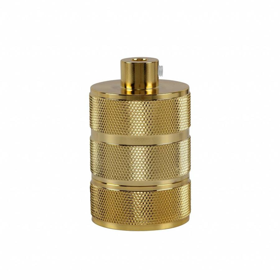 Fitting 'Hallvor' metaal Goud E27-1
