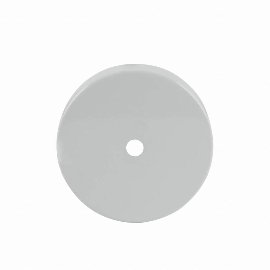 Metal Ceiling Rose 'Enok' white-1