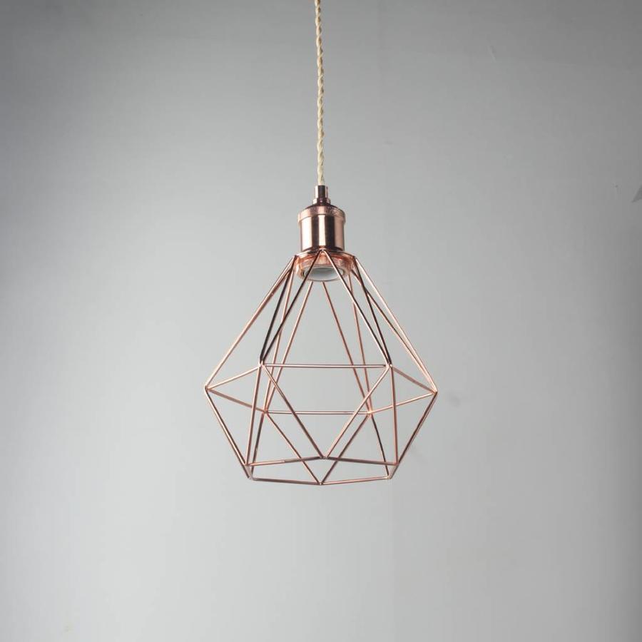 Cage Frame 'Ludvig' copper