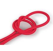 Kynda Light Strijkijzersnoer Rood - rond, effen stof