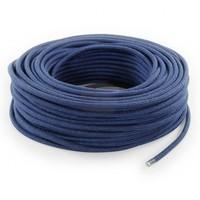thumb-Strijkijzersnoer Donkerblauw - rond, linnen-3
