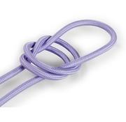 Kynda Light Fabric Cord Lilac - round, solid