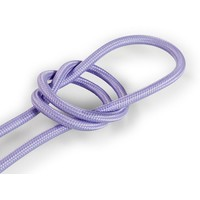 Fabric Cord Lilac - round, solid