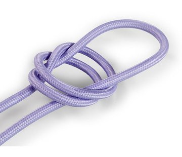 Kynda Light Fabric Cord Lilac - round, solid
