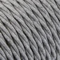 thumb-Strijkijzersnoer Grijs - gedraaid, linnen-2