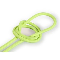 thumb-Fabric Cord Neon Yellow - round, solid-1