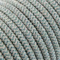Fabric Cord Sand & Sage - round, linen