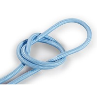 Fabric Cord Light Blue - round, solid