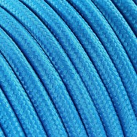 thumb-Fabric Cord Bright Blue - round, solid-2