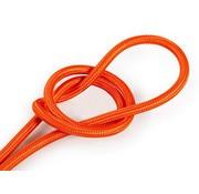Kynda Light Strijkijzersnoer Oranje - rond, effen stof