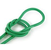 Kynda Light Strijkijzersnoer Groen - rond, effen stof