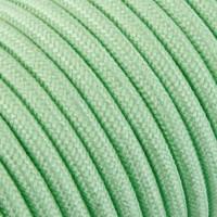 thumb-Fabric Cord Light Green - round, linen-2