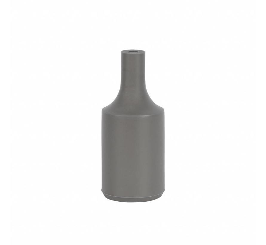 Silicone Lamp Holder Kare Grey E27