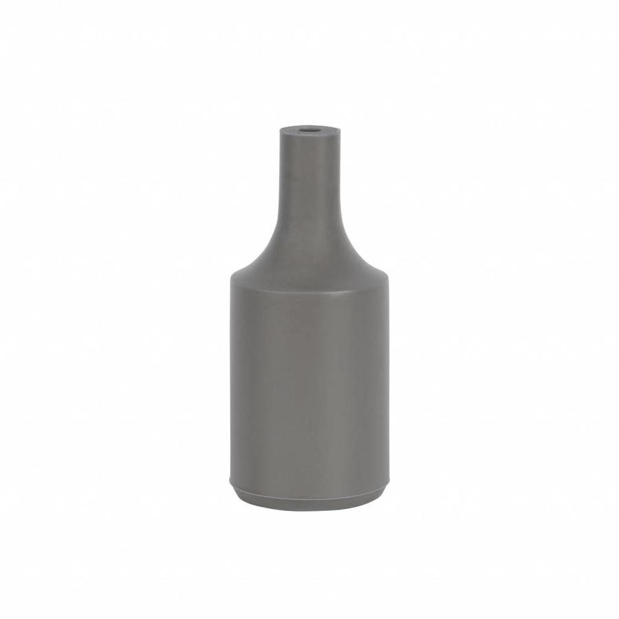Silicone Lamp Holder Kare Grey E27