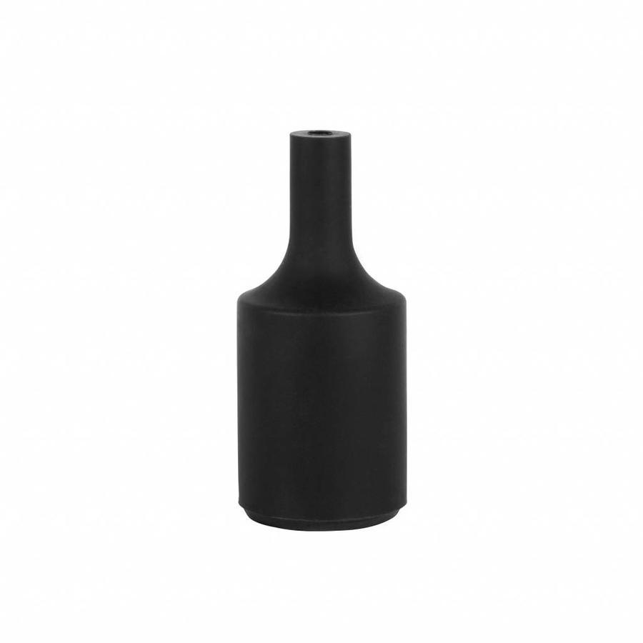 Silicone Lamp Holder Kare Black E27