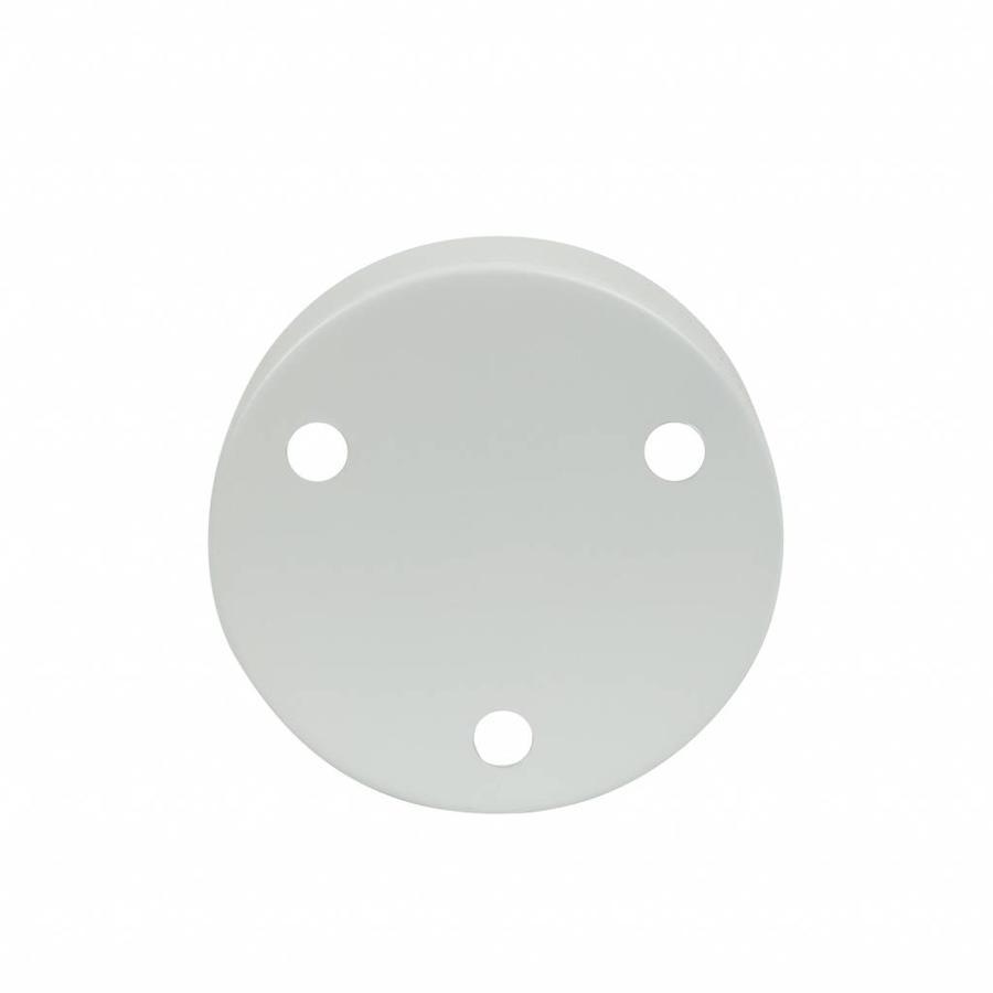 Metal Ceiling Rose 'Latham' white-1