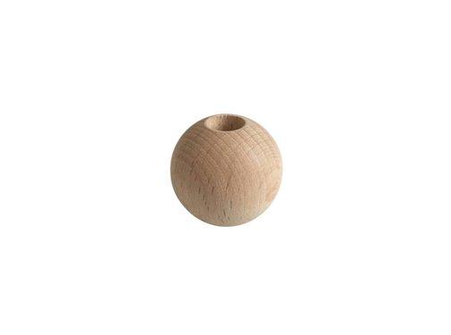 Kynda Light Pearl wood natural sphere small