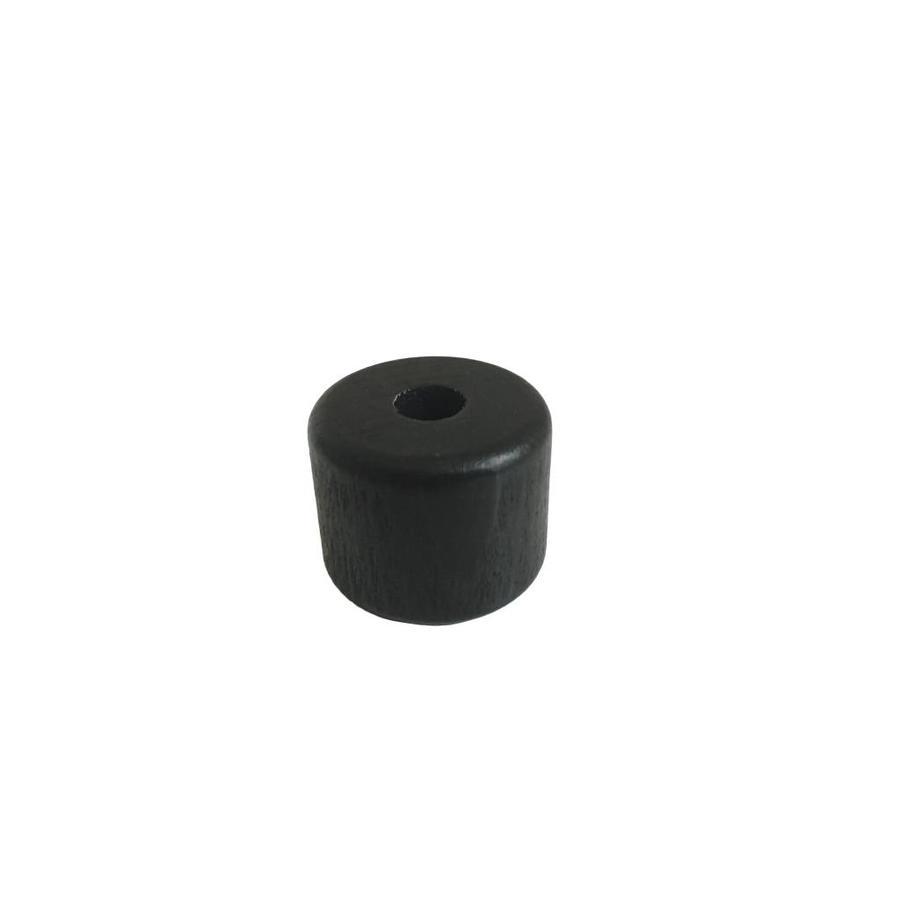Kraal hout zwart cilinder klein-1