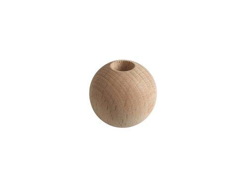 Pearl wood natural sphere big