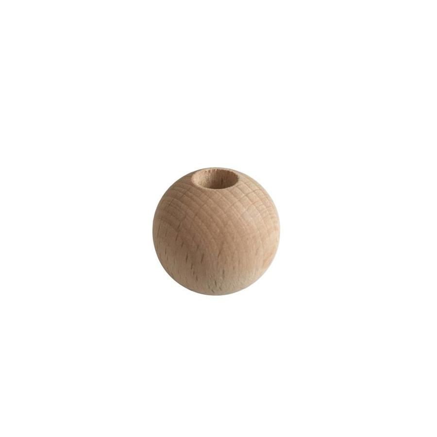 Kraal hout naturel rond groot-1