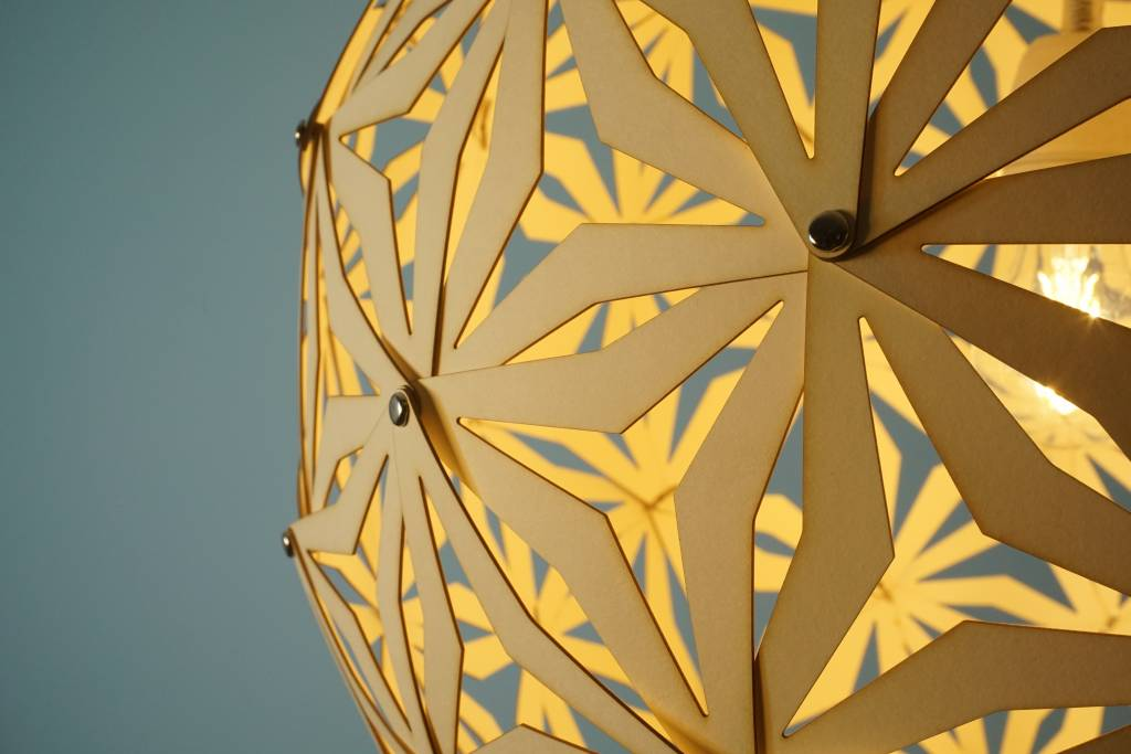 Grote Geometrische bollamp Fukuoka
