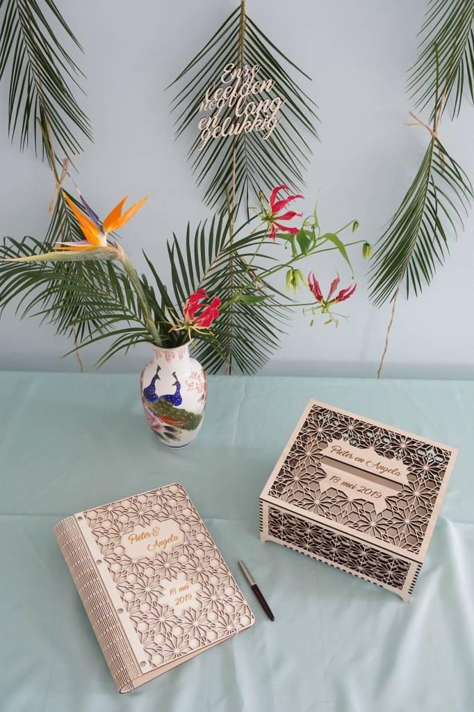 Enveloppendoos Origami bloemen L
