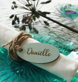 Naamkaartje Daniëlle