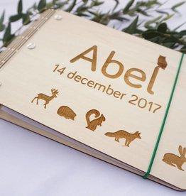 Kraamboek Bosdieren A5