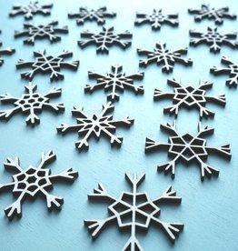 Sneeuwvlokken klein 24 st.