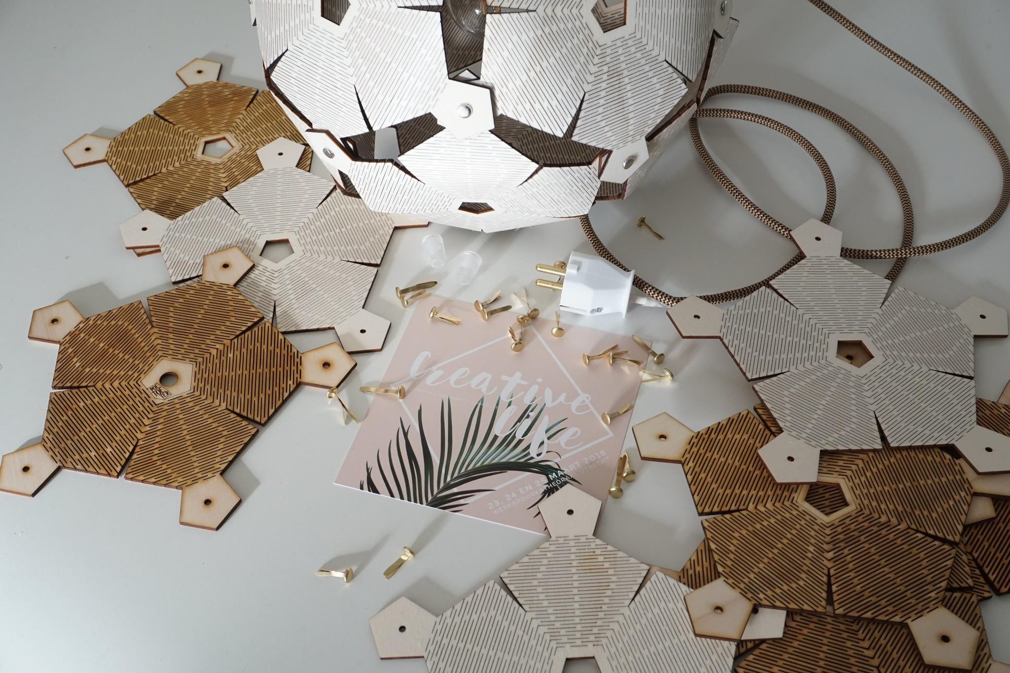 Creative Life workshop lamp maken