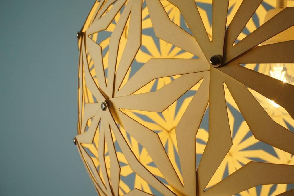 Grote Geometrische bollamp Fukuoka - Bouwpakket