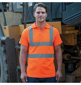 RTY Workwear Hi Vis Polo Shirt