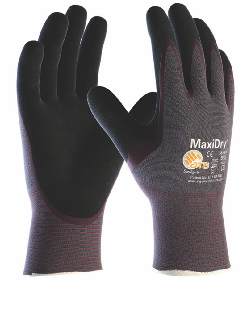 ATG MaxiDry 3/4 Coated Grip Glove