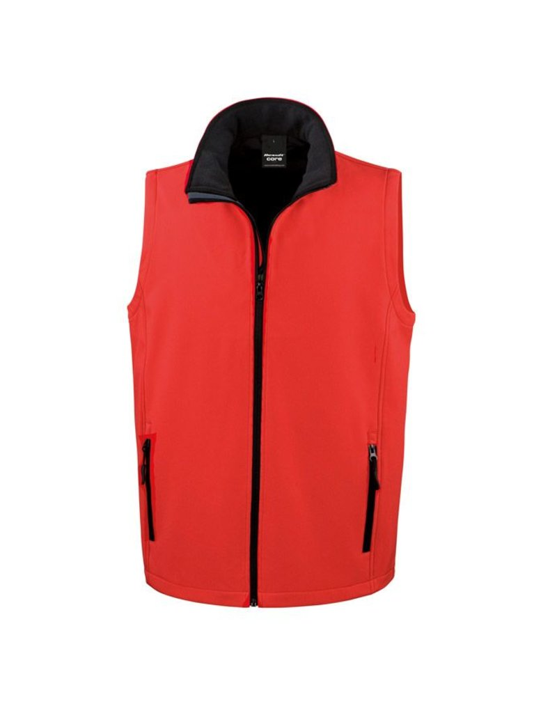 Result Result Printable Softshell  Bodywarmer (Men)