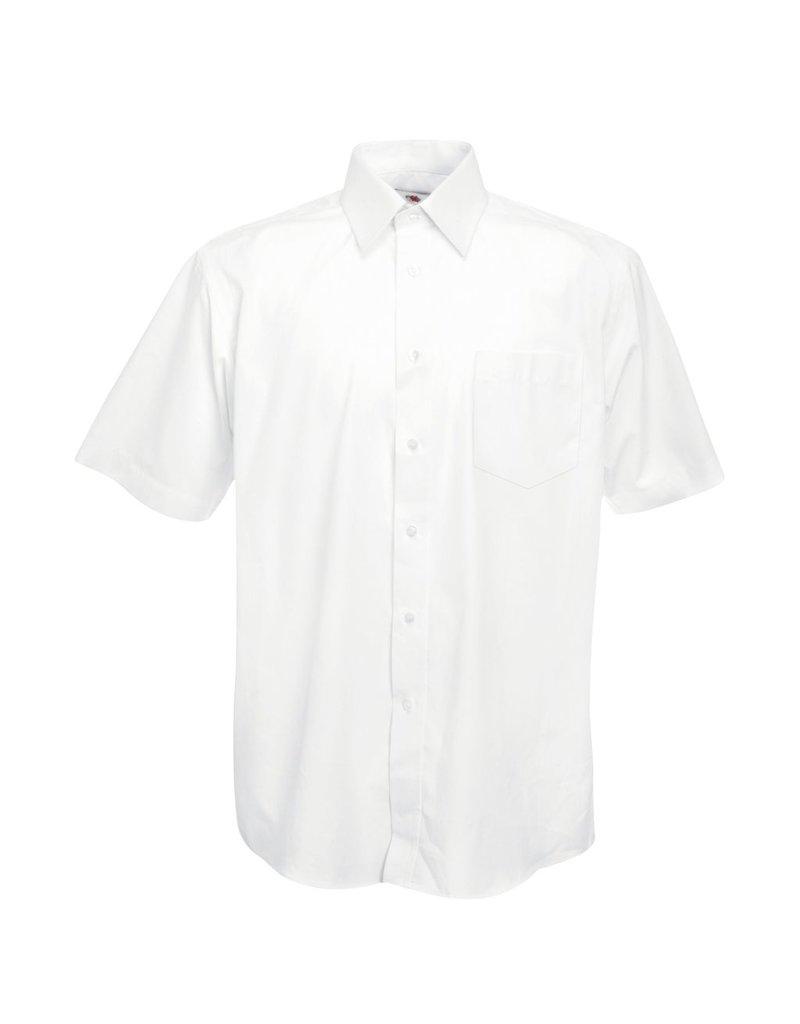 Fruit of the Loom Fruit of the Loom Poplin Short Sleeve Shirt.