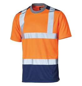 Dickies Two tone Hi Vis T Shirt