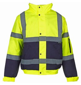 Super Touch Two Tone Hi Vis Bomber