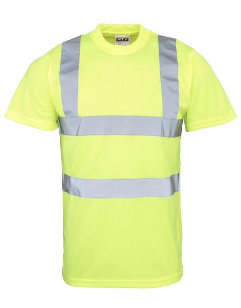 RTY Workwear Hi Vis T Shirt