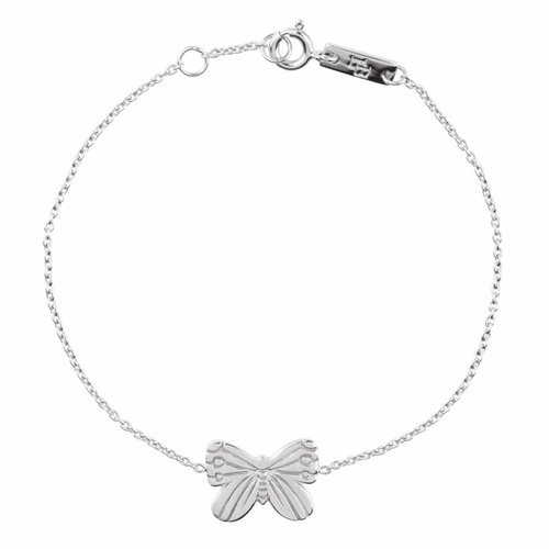 Lennebelle Petites Moeder Armband 'Spread your wings and Fly' Zilver