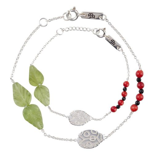 Lennebelle Petites Giftset 'You are my lovely little ladybug' Silver