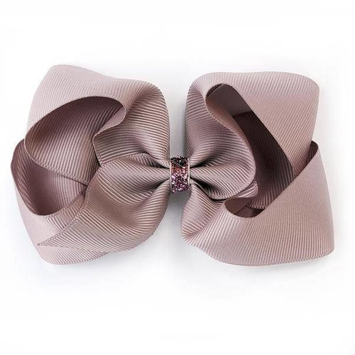 Verity Jones London Large Antique Mauve Glitter Hairclip