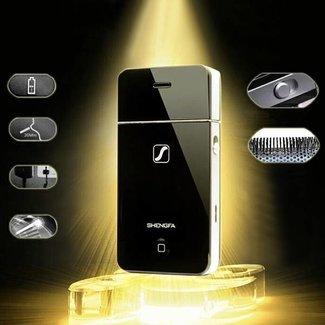 Shengfa Shaver elétrico sob a forma de um smartphone
