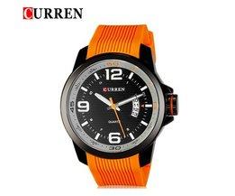CURREN Quartz Watch 8174 à prova d'água