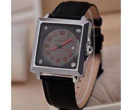 Relógios impermeáveis quadrados