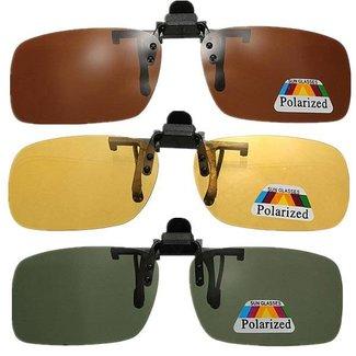 Óculos de sol Clip-On